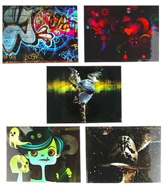 iSmoka / eLeaf Samolepka Eleaf / iSmoka iStick 50W Barva: 5ks set