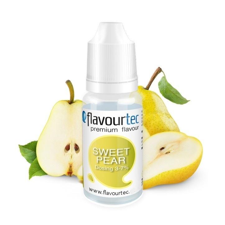 Flavourtec - Příchuť - Hruška (Sweet Pear) Kategorie: Ovocné, Příchuť: Hruška (Sweet Pear), Množství: 1,5ml