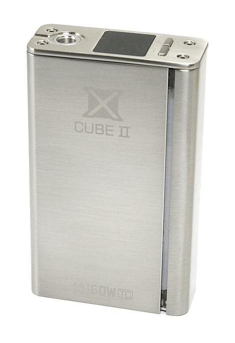 Smoktech X Cube II 160W TC Kategorie: Samostatný GRIP / tělo, Barva Baterie: Stříbrná 1ks, Napětí baterie: VW variabilní napětí / výkon