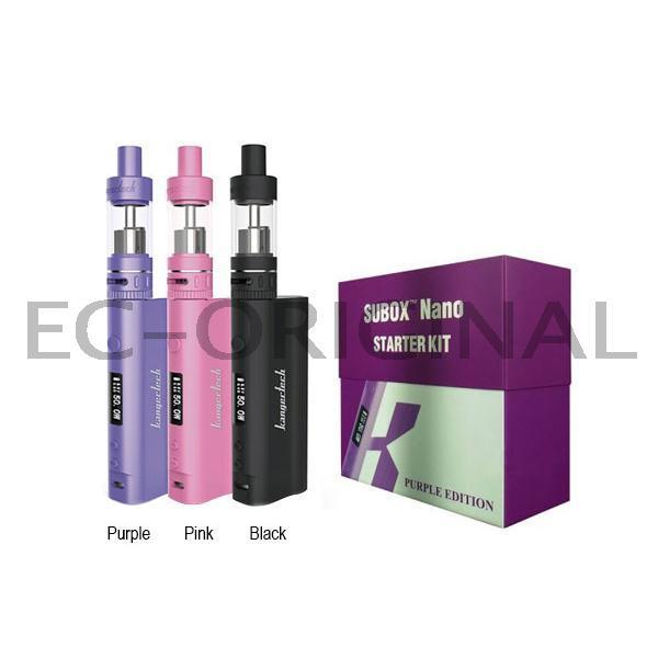 Kangertech Subox NANO Grip 50W kompletní set Barva Baterie: Černá