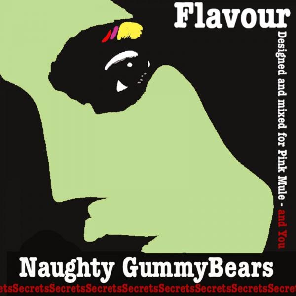 Pink Mule lab. Secrets Naughty Gummy Bears - Příchuť do liquidů - Pink Mule 10ml Kategorie: Sladké, Příchuť: Příchuť Naughty Gummy Bears, Množství: 10ml