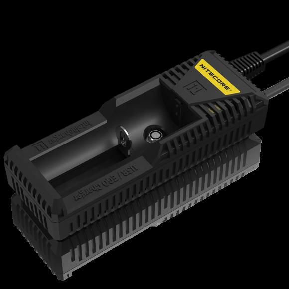 NiteCore Intellicharge i1 Li-Ion nabíječka s EGO terminálem Barva: Černá, Kategorie: Nabiječka Univerzální Li-ion, Model: Nabíječka Li-ion, Vstup: AC 100-240 V, 50/60 Hz, Výstup: 1000 mA / 500 mA