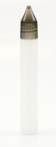 Tobeco Plnící lahvička PEN V2 15ml s kapátkem úzká Barva: poloprůhledná, Objem: 15ml, Kategorie: Lahve plnící, Materiál: poloměkký plast PE, Funkce: Kapátko, Barva vršku: černá