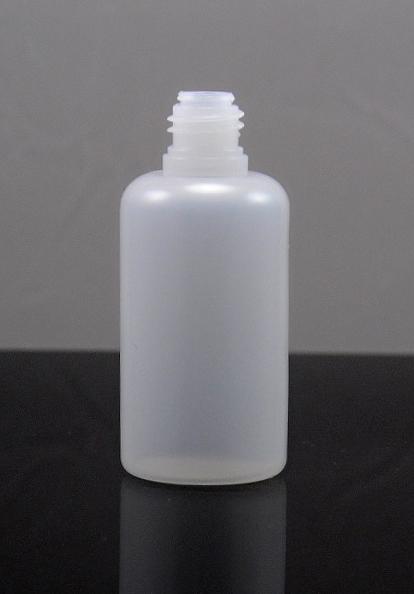 Tobeco Prázdná lahvička samostná 30ml PE Barva: poloprůhledná, Objem: 30ml, Kategorie: Lahve prázdné, Materiál: poloměkký plast PE