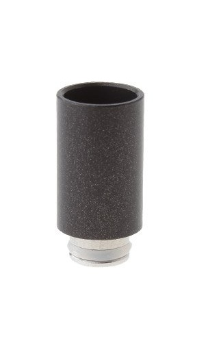 OEM Náustek 510 Nerez / černý Barva: Černá, Tip: 510, Materiál: Nerez, Tvar: Kulatý