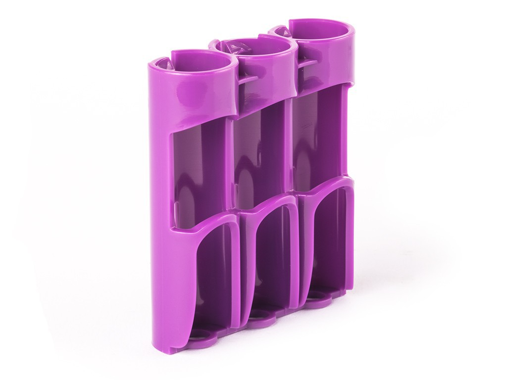 Pouzdro Efest Transportbox na baterie 3x18650 Barva: Fialová