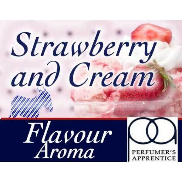 TPA - Perfumers Apprentice Perfumers Apprentice - Vzorky příchutí 1,5ml - Sladké Kategorie: Sladké, Příchuť: Příchuť Strawberries & Cream, Množství: 1,5ml