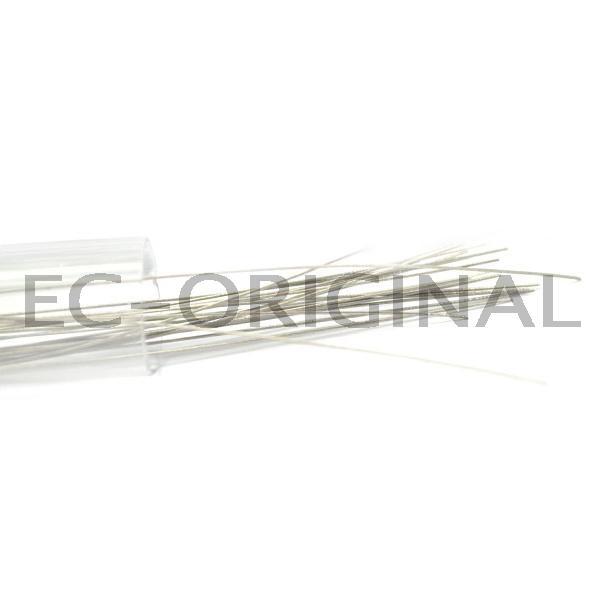 OEM Drát Titanium Gr1 rovný Kategorie: Dráty, Materiál: Titanium Gr1, Délka: 2,9m, Průměr: 0,30mm