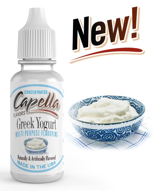 Capella Flavors USA Řecký jogurt (Greek Yogurt) - Příchuť Capella Flavors Kategorie: Sladké, Příchuť: Sladká - Greek Yogurt, Množství: 13ml