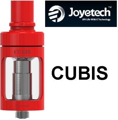 Joyetech Cubis Tank - 3,5ml clearomizér Barva: Červená