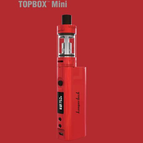 Kangertech TOPBOX Mini TC 75W set Barva: červená 1ks