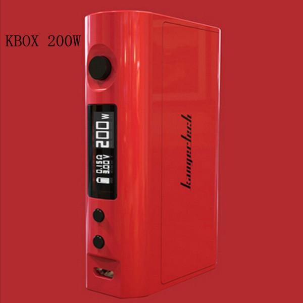 Kangertech KBOX TC MOD 200W Barva: Červená