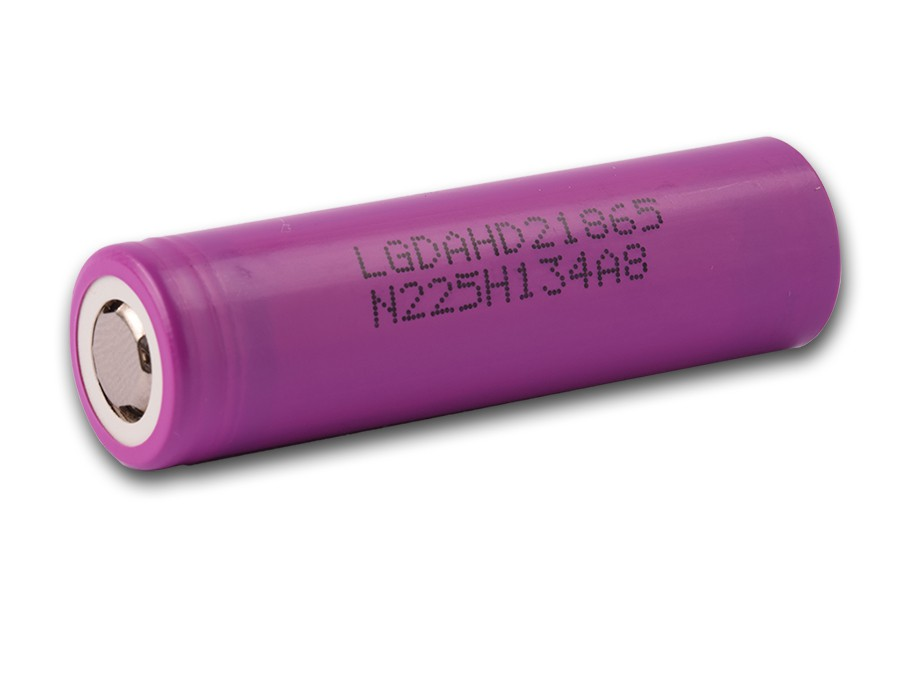 Baterie 18650 LG ICR 18650-HD2 - 2000mAh / 25A Kategorie: Baterie Li-ion, Model: Li-ion 18650, Délka: 65mm, Průměr: 18mm, Napětí: 3,7v, Kapacita Baterie: 2000mAh, Ochrana PCB: Ne