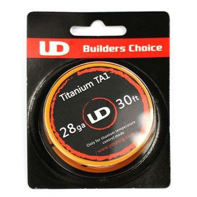 Youde Technology Drát Titanium Gr1 - UD 30ft Titanium TA1 28AWG