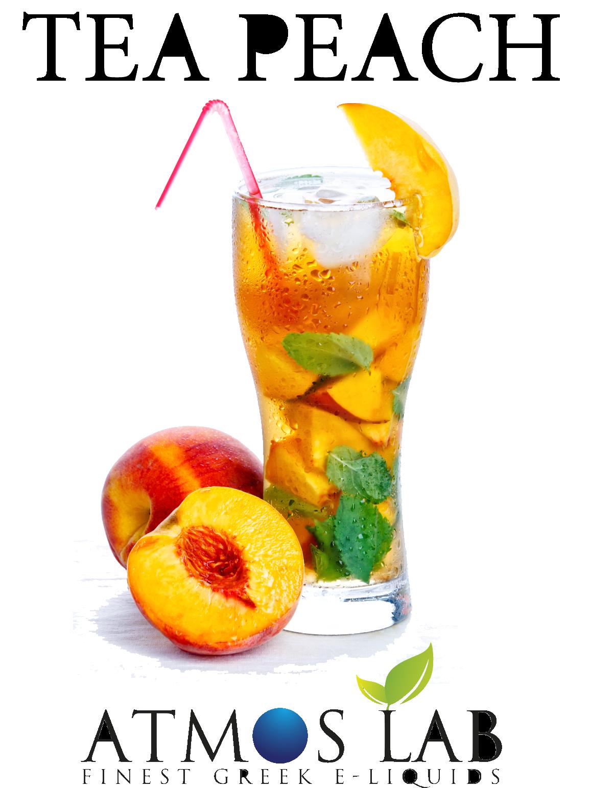 Broskvový čaj / Tea Peach - Příchuť AtmosLab 10ml Kategorie: Nápojové, Příchuť: Nápojová - Tea Peach, Množství: 10ml