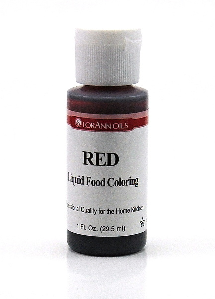LorAnn - USA Lorann potravinářské barvivo pro e-liquidy 1,5ml Barva: Červená