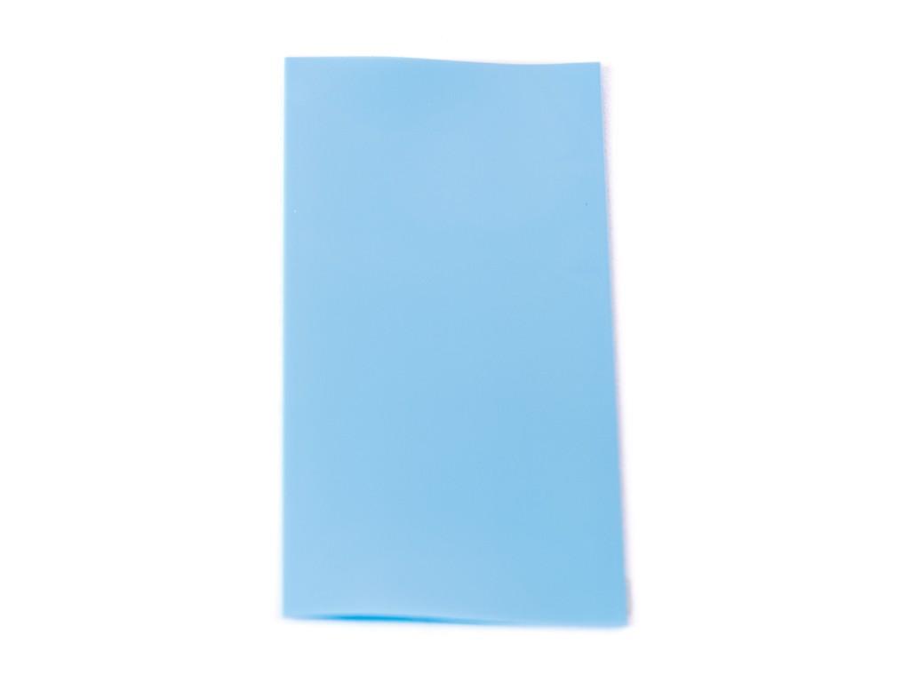 EU PVC teplem smršťovací obal na 18650 baterie Barva: Modrá, Materiál: PVC