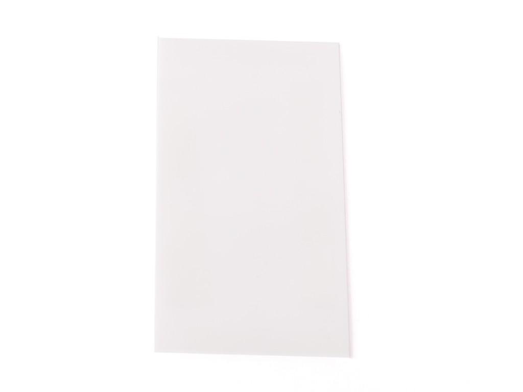EU PVC teplem smršťovací obal na 18650 baterie Barva: Bílá, Materiál: PVC