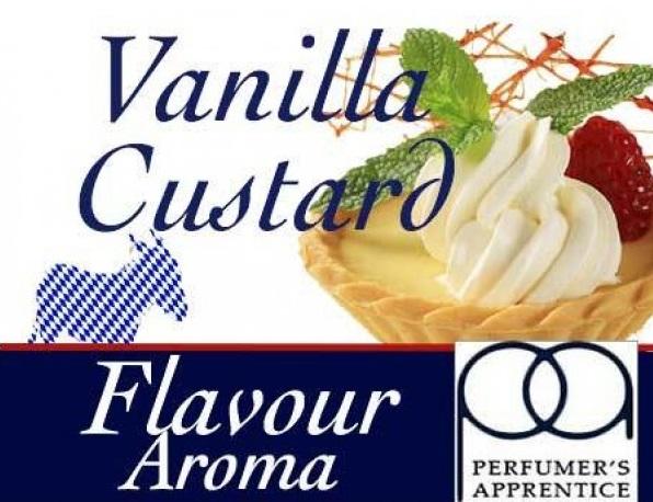 TPA - Perfumers Apprentice Perfumers Apprentice - Vanilla Custard 10ml Kategorie: Sladké, Příchuť: Sladká - Vanilla Custard, Množství: 10ml