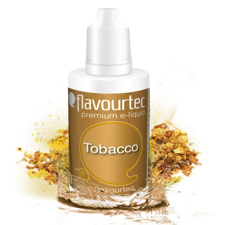 Tobacco (Tabák) - Flavourtec 50ml náplň do e-cigarety Kategorie: Tabákové, Příchuť: Tabáková - Tobacco, Množství: 50ml, Množství nikotinu: 06mg