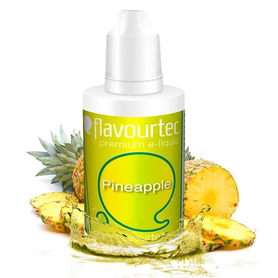 Ananas (Pineapple) - Flavourtec 50ml náplň do e-cigarety Kategorie: Ovocné, Příchuť: Ovocná - Ananas (Pineapple), Množství: 50ml, Množství nikotinu: 06mg