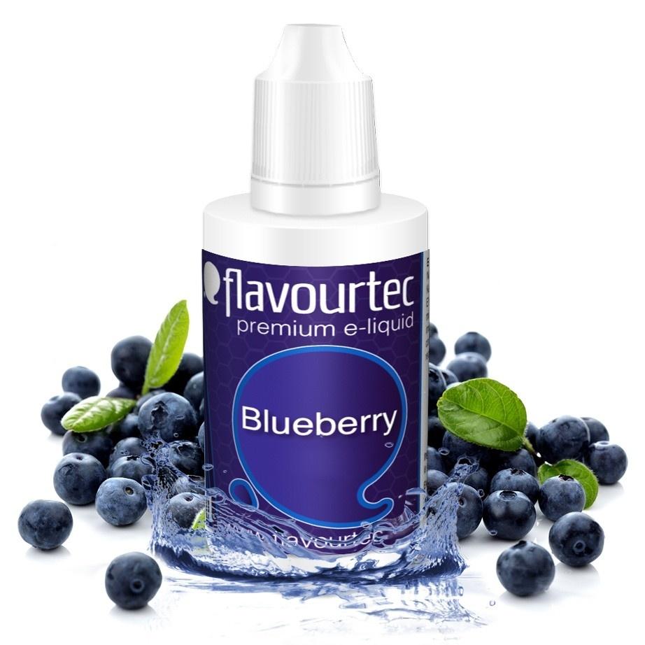 Borůvka (Blueberry) - Flavourtec 50ml náplň do e-cigarety Kategorie: Ovocné, Příchuť: Ovocná - Borůvka (Blueberry), Množství: 50ml, Množství nikotinu: 06mg
