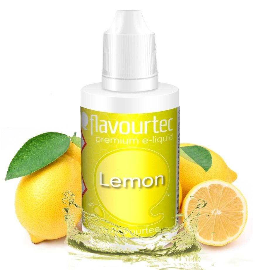 Citrón (Lemon) - Flavourtec 50ml náplň do e-cigarety Kategorie: Ovocné, Příchuť: Ovocná - Citrón (Lemon), Množství: 50ml, Množství nikotinu: 06mg