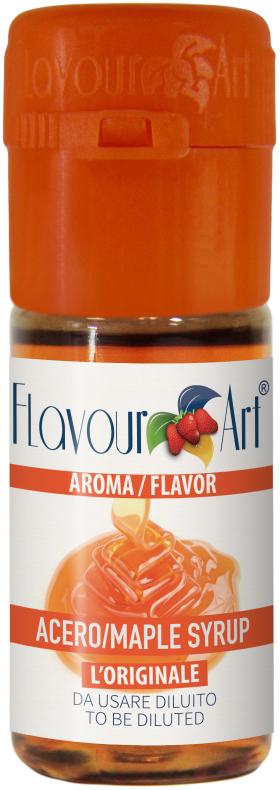 Javorový sirup (Maple syrup) - Příchuť Flavour Art Kategorie: Sladké, Příchuť: Sladká - Maple syrup, Množství: 10ml