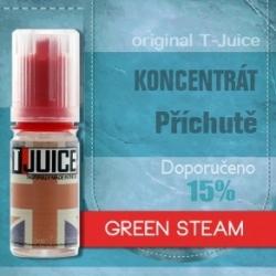 Green Steam - příchuť T-Juice Kategorie: Ovocné, Příchuť: Ovocná - Green Steam, Množství: 30ml