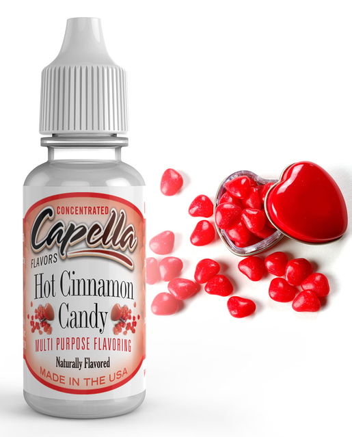 Capella Flavors USA Teplé skořicové bonbony (Hot Cinnamon Candy) - Příchuť Capella Flavors Kategorie: Sladké, Příchuť: Sladká - Hot Cinnamon Candy, Množství: 13ml