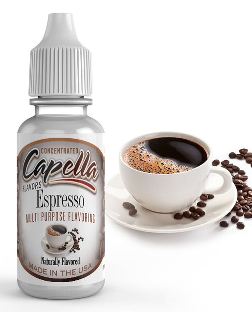 Capella Flavors USA Káva - Espresso (Espresso) - Příchuť Capella Flavors Kategorie: Nápojové, Příchuť: Nápojová - Espresso, Množství: 13ml