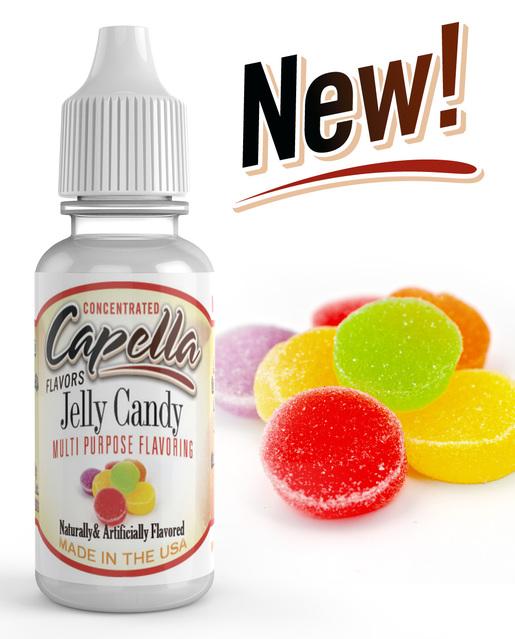 Capella Flavors USA Želé bonbony (Jelly Candy) - Příchuť Capella Flavors Kategorie: Sladké, Příchuť: Sladká - Jelly Candy, Množství: 13ml