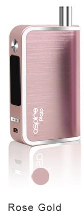 Aspire Plato TC - 50W kompletní set Barva: Růžově zlatá