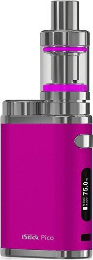 iSmoka / eLeaf Eleaf iStick Pico TC 75W - set Kategorie: Základní sada, Barva Baterie: Růžová 1ks