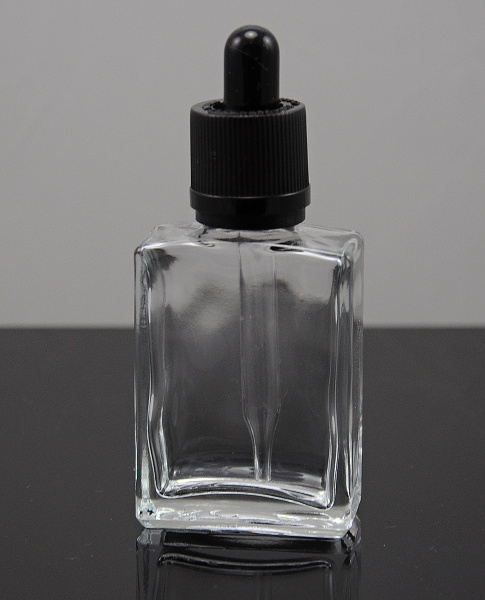 Lahev hranatá průhledná SKLO 30ml s kapátkem Barva: Průhledná, Objem: 30ml, Materiál: Sklo, Funkce: Kapátko, Barva vršku: Bílá