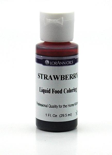 LorAnn - USA Lorann potravinářské barvivo pro e-liquidy 29.5ml Barva: Jahodová