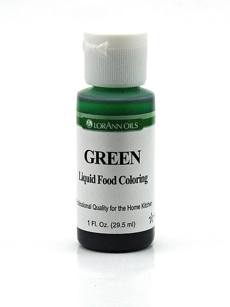 LorAnn - USA Lorann potravinářské barvivo pro e-liquidy 29.5ml Barva: Zelená