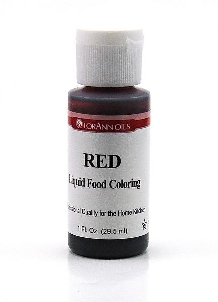 LorAnn - USA Lorann potravinářské barvivo pro e-liquidy 29.5ml Barva: Červená