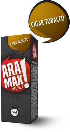 Cigar Tobacco - Aramax liquid - 10ml Kategorie: Tabákové, Příchuť: Cigar Tobacco, Množství: 10ml, Množství nikotinu: 00mg