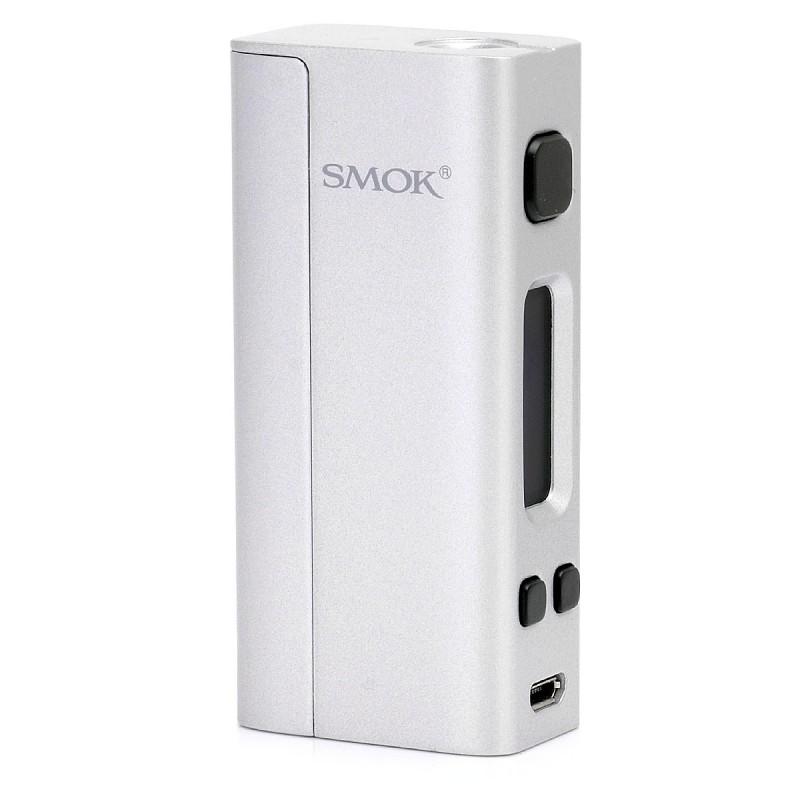 Smoktech SMOK R-Steam mini box MOD 80W TC Kategorie: Samostatný GRIP / tělo, Barva Baterie: Stříbrná, Napětí baterie: VW variabilní napětí / výkon