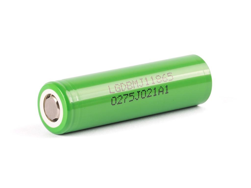 LG INR18650MJ1 3500mAh / 10A Kategorie: Baterie Li-ion, Model: Li-ion 18650, Délka: 65mm, Průměr: 18,3mm, Napětí: 3,7v, Kapacita Baterie: 3500mAh, Ochrana PCB: Ne