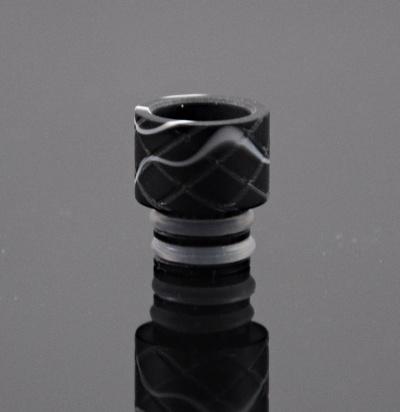 OEM Akrylový náustek 510 - 14mm - 6 barev Barva: Černá, Tip: 510, Materiál: Akryl, Tvar: Kulatý