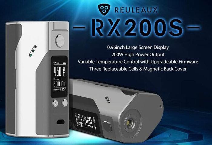 WISMEC Reuleaux RX200S TC 200W + Barva: Stříbrná 3KS BATERIE SONY VTC5 2600MAH