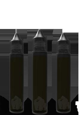 Chubby Gorilla USA Plnící lahvička CHUBBY GORILLA 30ML s kapátkem úzká Objem: 30ml - černá
