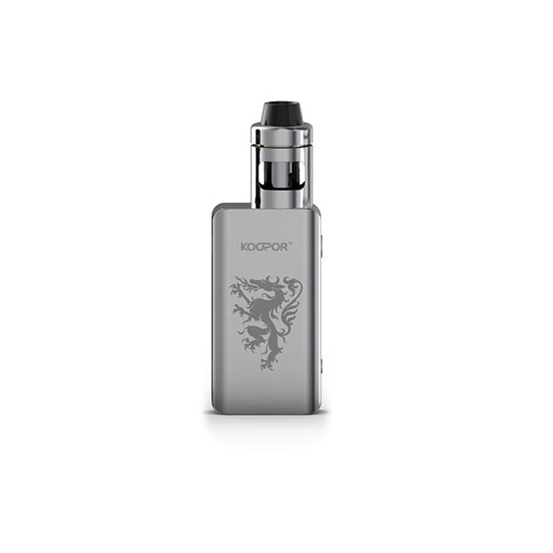 Smoktech KOOPOR Knight 80W TC kompletní set Barva: Stříbrná