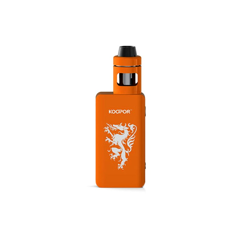Smoktech KOOPOR Knight 80W TC kompletní set Barva: Oranžová