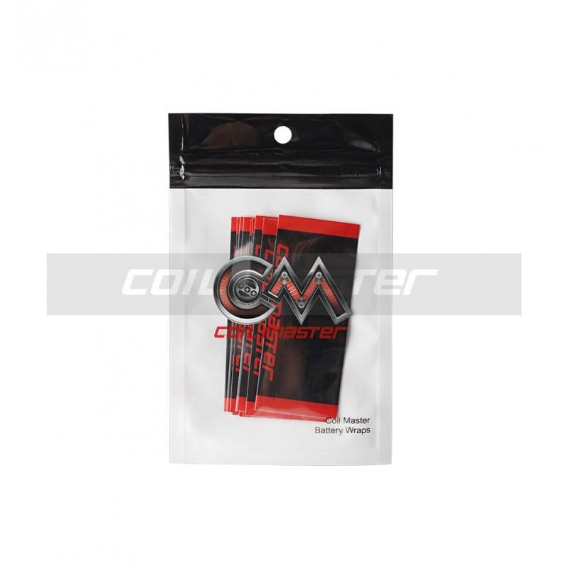 COIL MASTER PVC teplem smršťovací obal na 18650 baterie - 10ks