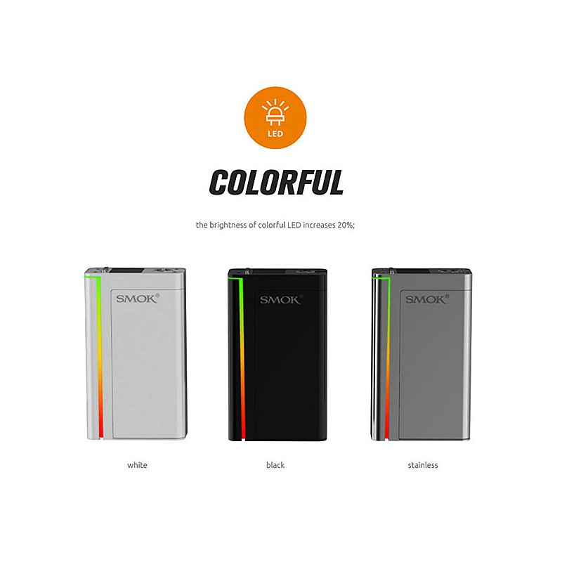 Smoktech SMOK X CUBE Ultra + Barva Baterie: Nerezová 1ks + 2KS BATERIE SONY VTC4 2100MAH ZDARMA