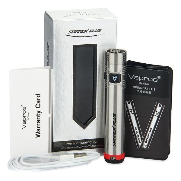 Baterie Vision Spinner Plus (VV) 1500mAh Barva: Stříbrná
