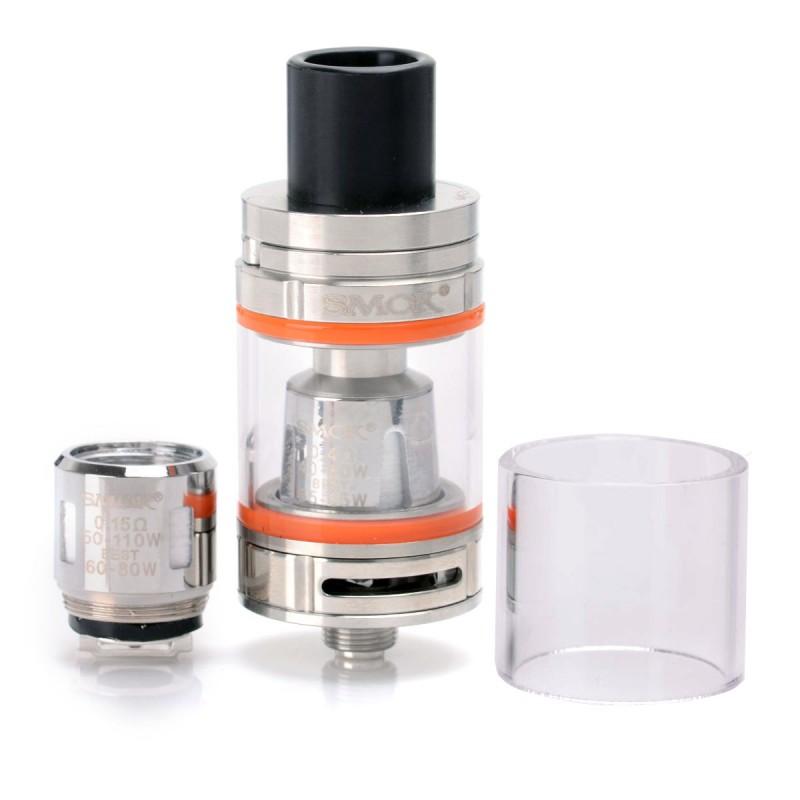 Smoktech SMOK TFV8 Baby Barva: Stříbrná, Odpor: 0,15ohm, Objem: 3,0ml